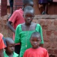 South Sudanese refugee children in Uganda