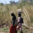 Gathering water in Onura