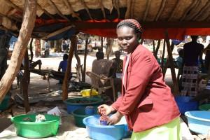 Aneno Beatrice,new client in Juba