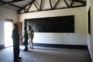 Newly built classroom Mairo Primary School